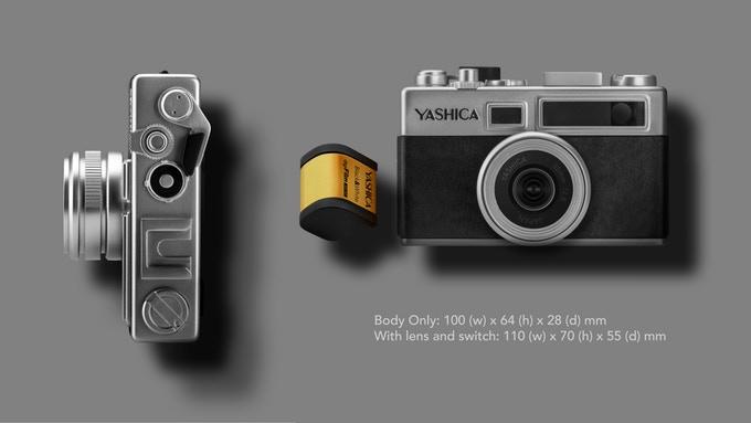 デジタルフィルムカメラ