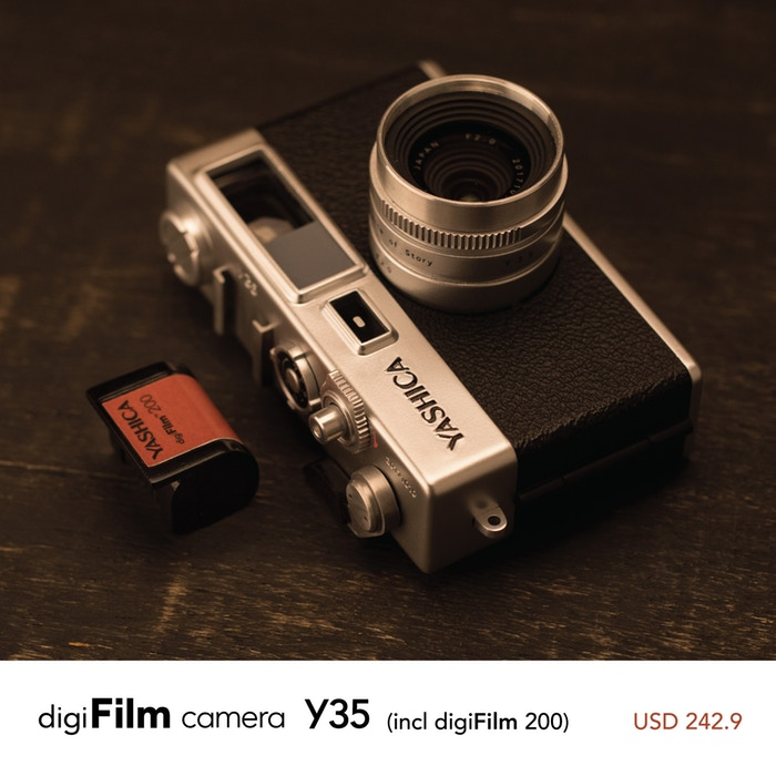 digiFilm™ Camera by YASHICA by YASHICA