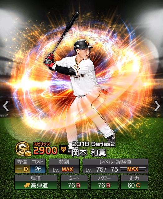 2018-Series2-岡本和真
