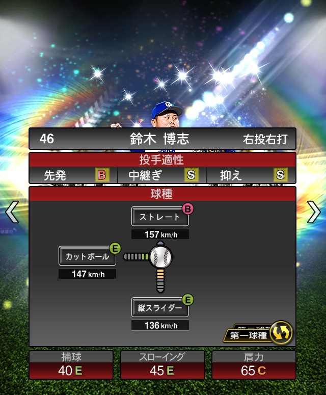 2018-Series1-鈴木博志-投手適正