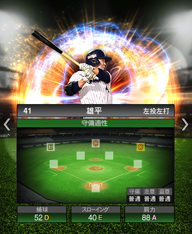 2018-Series2-雄平-守備適正