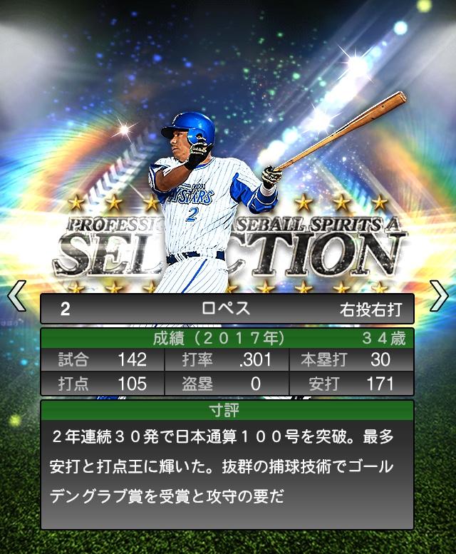 2018-Series1-ロペス-寸評