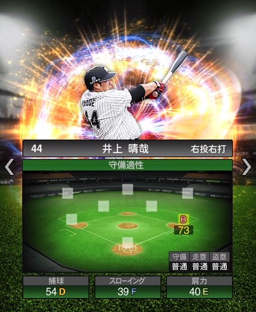 2018-Series2-井上晴哉-守備適性