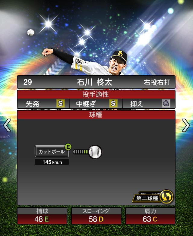 2018-Series1-石川柊太-投手適正2