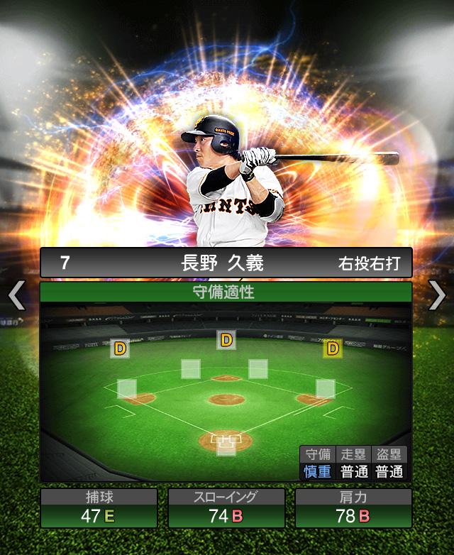 2018-Series2-長野久義-守備適正