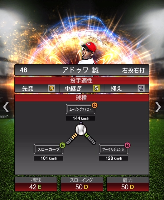 2018-Series2-アドゥワ誠-投手適性