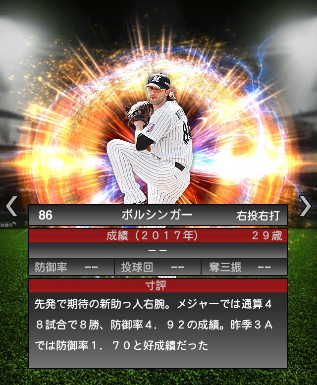 2018-Series2-ボルシンガー-投手適性-寸評