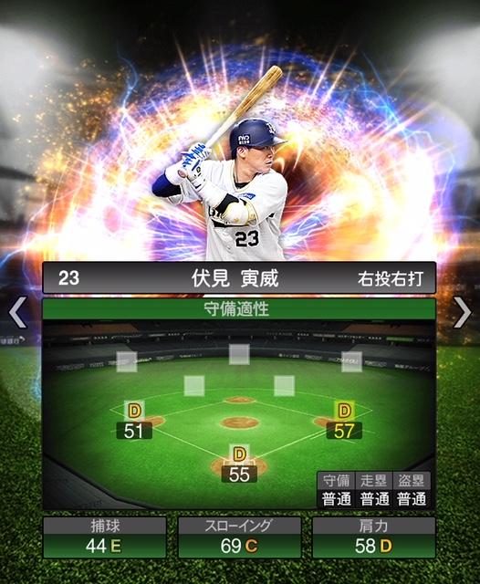 2018-Series2-伏見寅威-守備適性