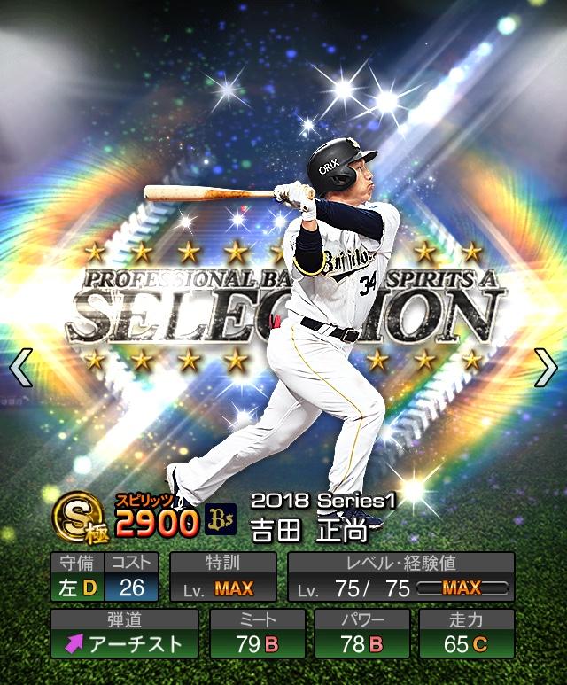 2018-Series1-吉田正尚