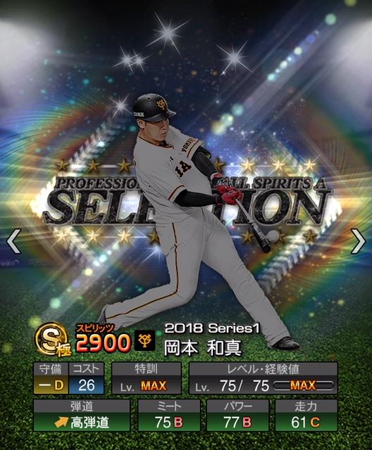 2018-s1-selection-岡本和真
