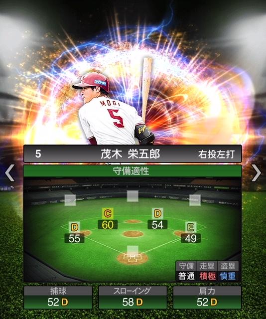 2018-Series2-茂木栄五郎-守備適性