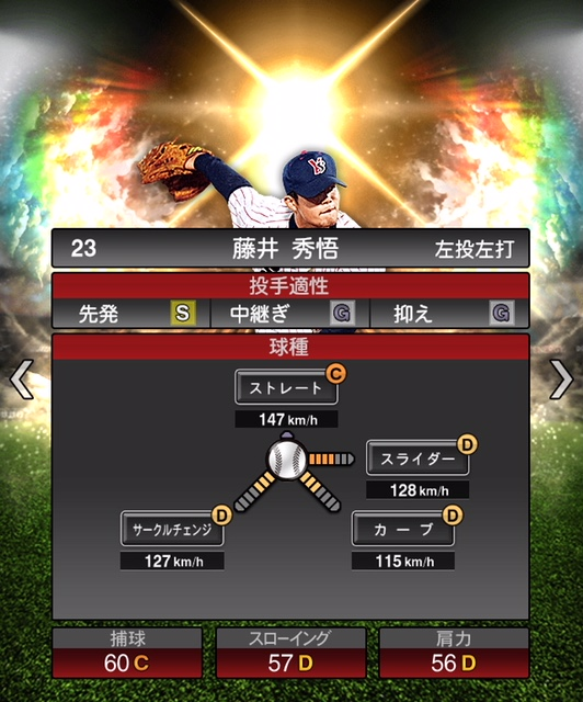 2018-ob-藤井秀悟‐投手適性
