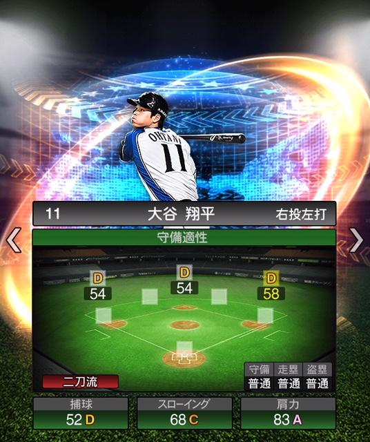 2018-s2-ws-大谷翔平(野手)守備適正