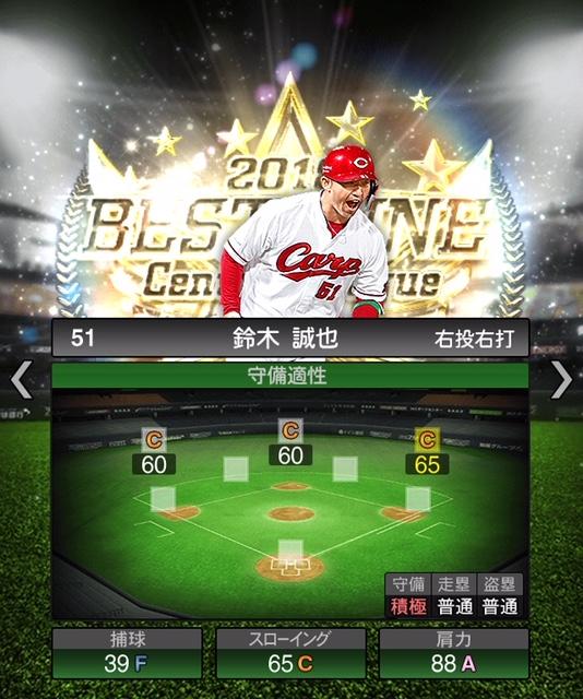 2018-b9-鈴木誠也-守備適性