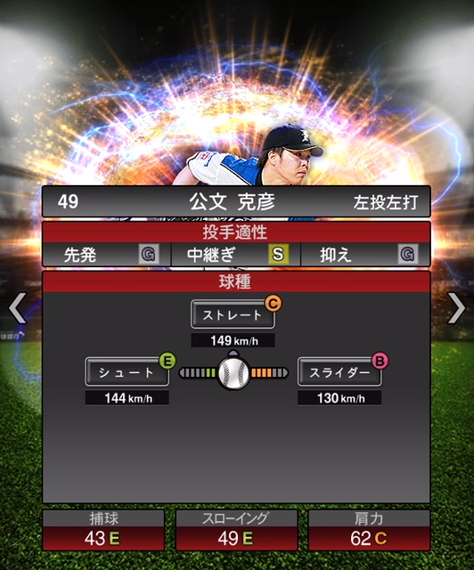 2018-s2-公文克彦-投手適性