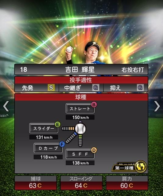 2019-s1-吉田輝星-投手適性-第一球種