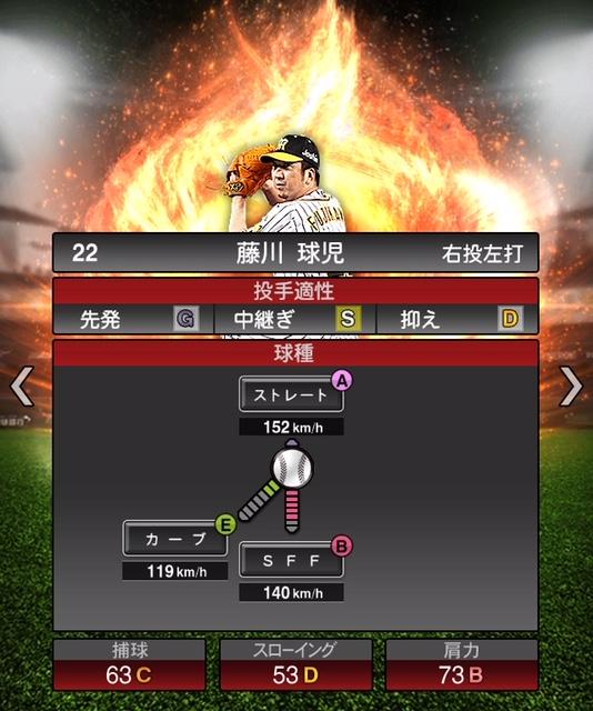 2019-s1-藤川球児-投手適性