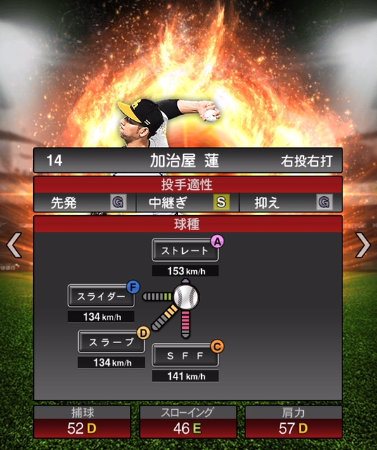 2019-s1-加治屋蓮-投手適性