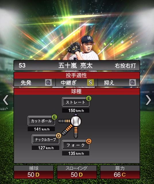 2019-new-五十嵐亮太-投手適性