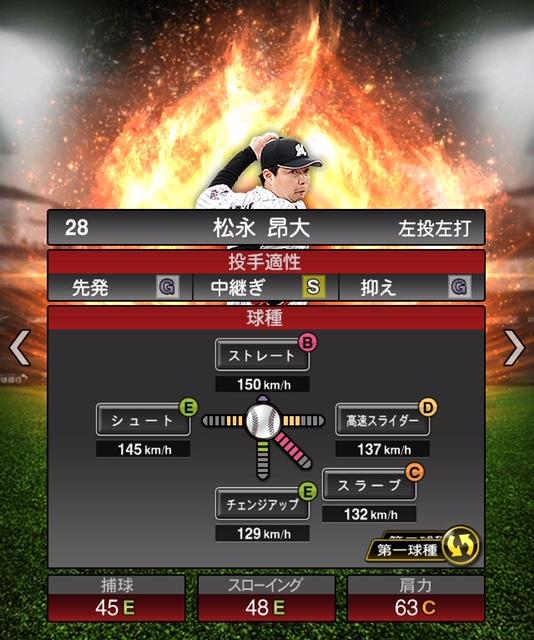 2019-s1-松永昂大-投手適性-第一球種