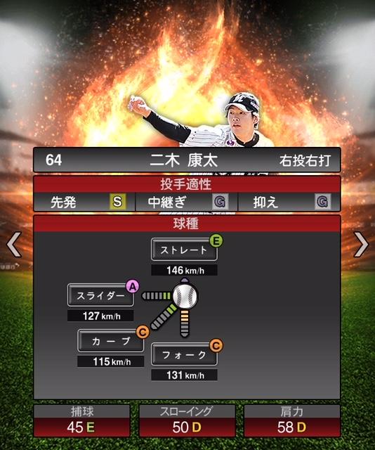 2019-s1-二木康太-投手適性