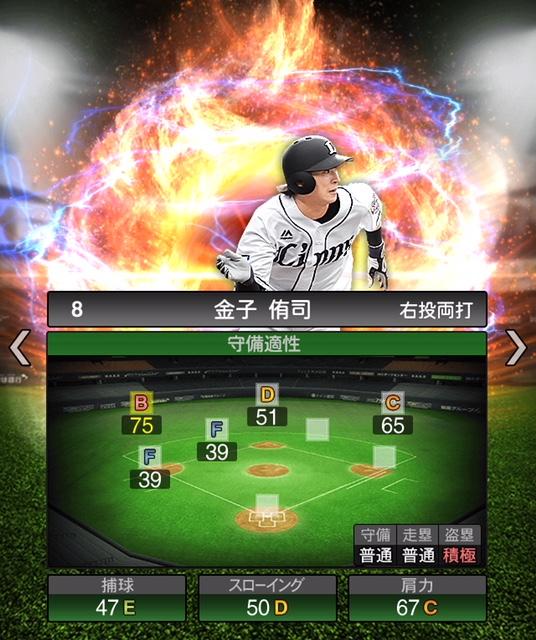 2019-s2-金子侑司-守備適性