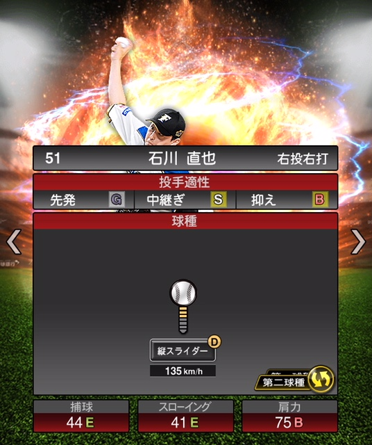 2019-s2-石川直也-投手適性-第二球種