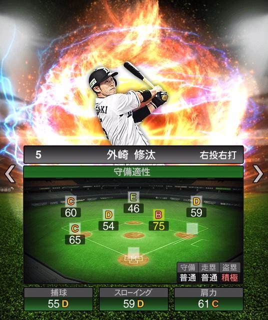 2019-s2-外崎修汰-守備適性