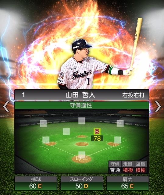 2019-s2-山田哲人-守備適性