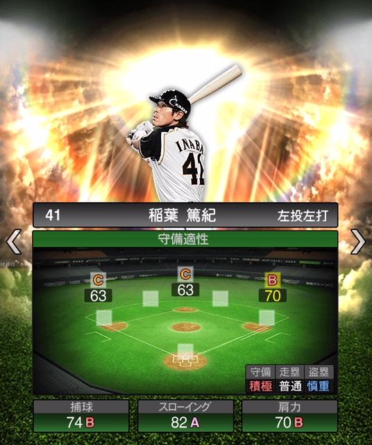 2019-ob-稲葉篤紀-守備適性
