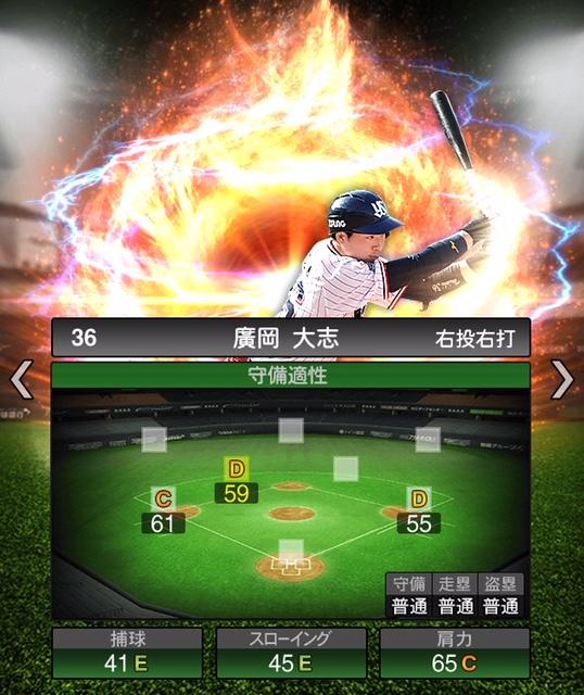 2019-s2-廣岡大志-守備適性