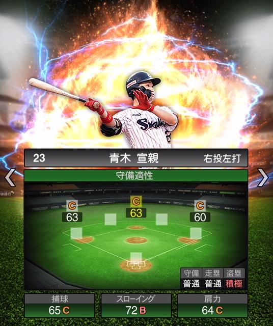 2019-s2-青木宣親-守備適性