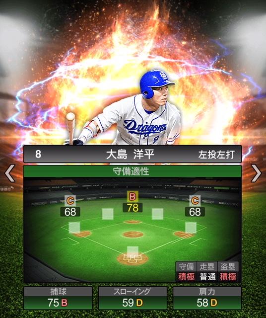 2019-s2-大島洋平-守備適性
