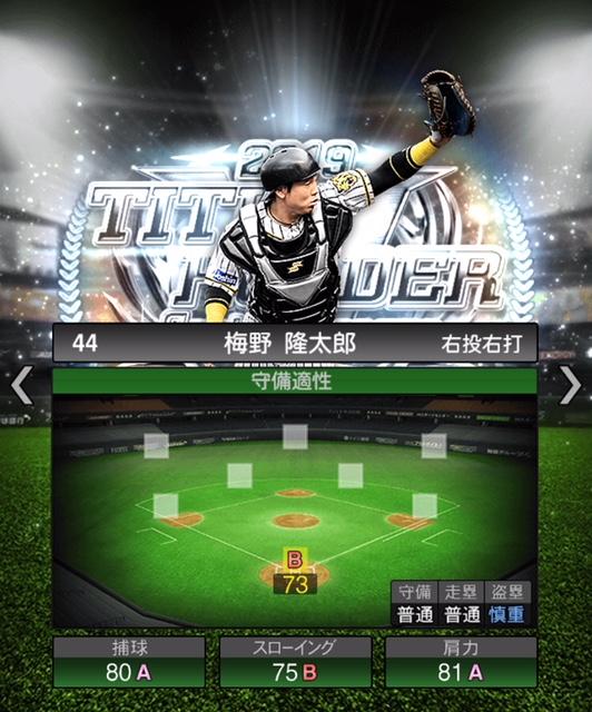 2019-th-梅野隆太郎-守備適性