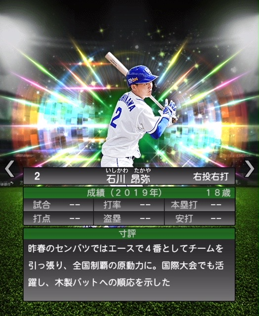 2020−r−石川昂弥−寸評