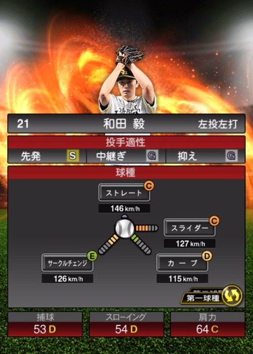 2020-s1−和田毅−投手適性−第一球種