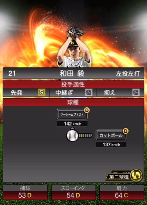 2020-s1−和田毅−投手適性−第二球種