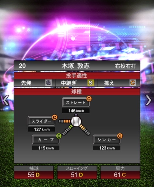 2020-ts−木塚敦志−投手適性