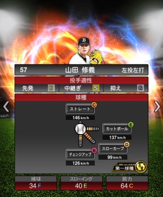 2020-s2−山田修義−投手適性−第一球種