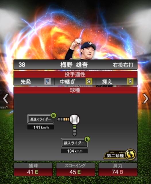 2020-s2−梅野雄吾−投手適性−第二球種
