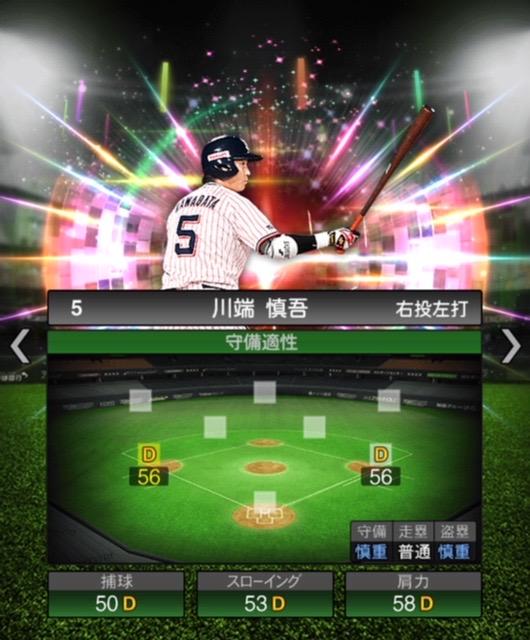 2020-s2−川端慎吾−守備適性