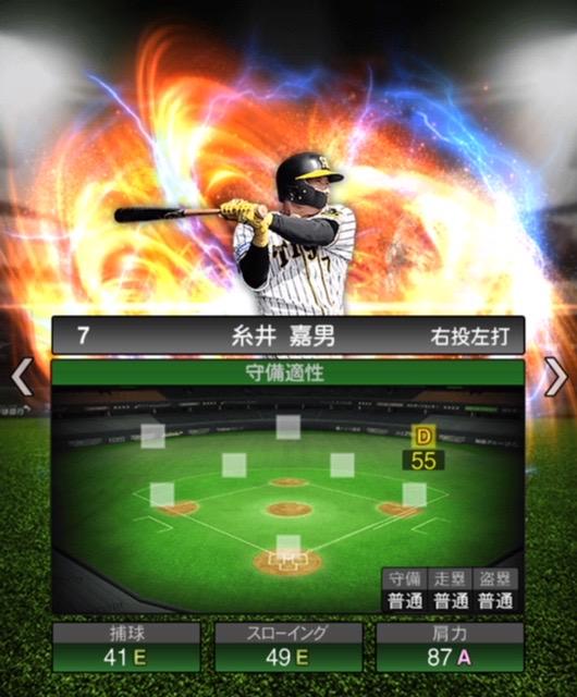 2020-s2−糸井嘉男−守備適性