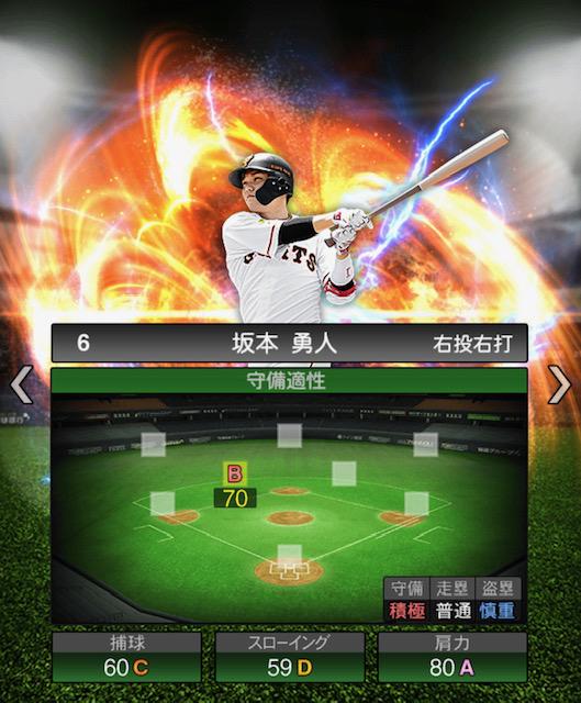 プロスピ-坂本-守備力