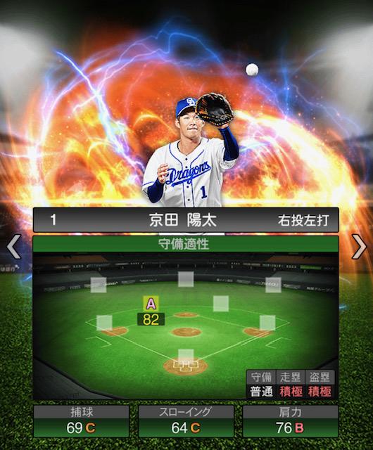 プロスピ-京田-守備力