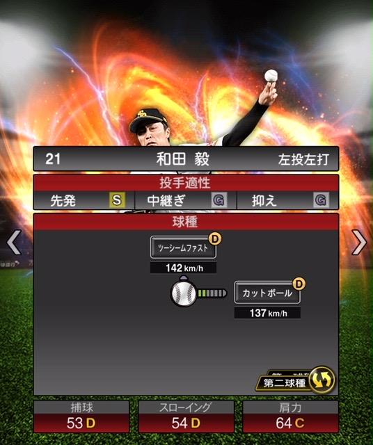 2020-s2−和田毅−投手適性−第二球種