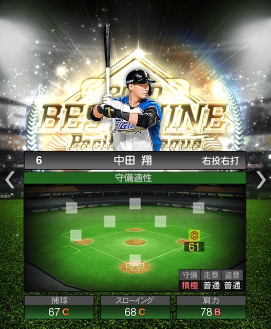 2020-b9−中田翔−守備適性